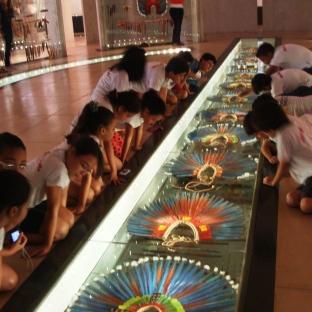 Passeio cultural no Museu das Culturas Dom Bosco