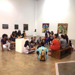 Visita ao Museu de Arte Contemporânea - MARCO