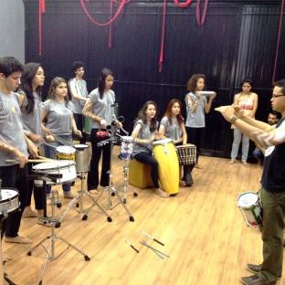 Percussão com Felipe Ceará