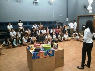 Casa recebe palestra sobre alimentação saudável com a nutricionista Mara Toledo