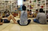 Contação de histórias com Aline Higa